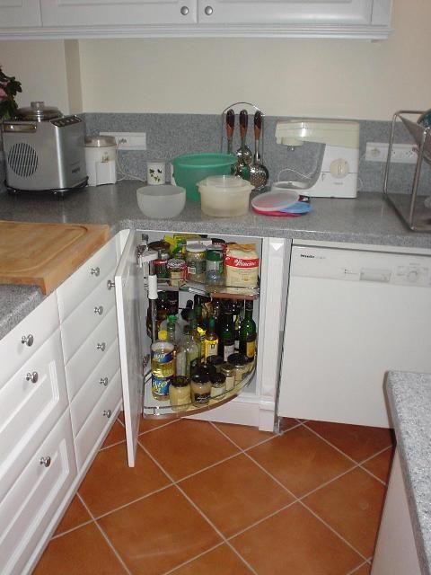 Peinture de cuisine cuisine blanche plan de travail - Plan de travail cuisine blanche ...