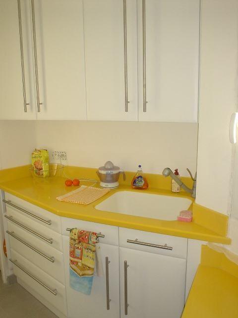 Mitigeur Cuisine Ikea Avis : Fabrication et pose dune cuisine laquée en blanc avec un plan de
